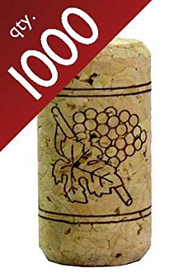 "#9 Straight Corks 15/16"" x 1 3/4"". Bag of 1000"