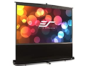 "Elite Screens F100NWH ezCinema Series Portable Projection Screen (100"" Diag. 16:9 49""Hx87.2""W)"