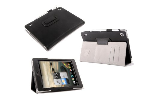 Supremery® Schutzhülle für Acer Iconia A1-810 A1-811 Tasche Case Lederetui Sleeve Lederhülle Cover für Acer Iconia A1-811 A1-810 3G (7,9 Zoll) Tablet-PC Hülle Tasche Case