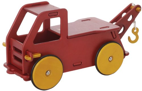 HABA Moover Baby Truck, Red - 1