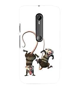 printtech Disney Cartoon Back Case Cover for Motorola Moto G3::Motorola Moto G (3rd Gen)