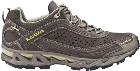 Lowa Women's S-cloud WS Trail Running Shoe,Chestnut/Olive,8.5 M US