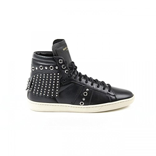 Yves Saint Laurent Yves Saint Laurent Womens Sneaker 404664 COT00 1000 NERO