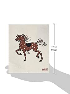 Swedish Treasures Wet-it! Cleaning Cloth, Works Great in Kitchen, Bathroom or Any Room, Reusable & Biodegradable, Spotted Horse