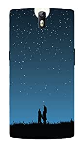 Back Cover for OnePlus One stars in the sky