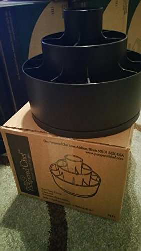 Pampered Chef Tool Utensil Holder Turn About Carrousel