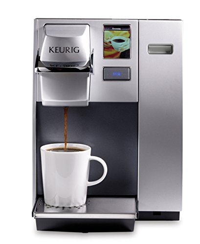 KeurigK155 Office Pro Single Cup Commercial K-Cup Pod Coffee Maker, Silver