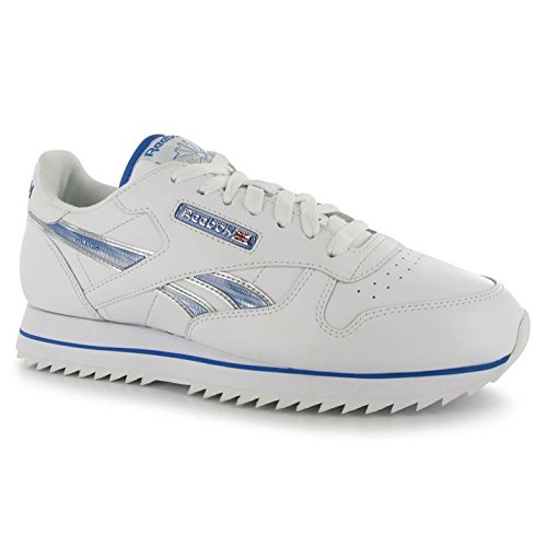 reebok-mens-classic-leather-etched-ripple-iii-trainers-sports-shoes-footwear-white-buffblue-uk-85425