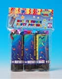 Twist & Pop Party Shooter/Popper 11Cm 6/Pack