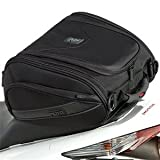 MotoCentric Mototrek Sport Tail Bag - Black