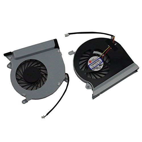Generic NEW Laptop CPU Cooling Fan For MSI GE70 MS-1756 MS-1757 CPU-VGA Series Replacement Part Number DC5V 0.55A E33-0800413-MC2 (Replacement Laptop Cooling Fan compare prices)