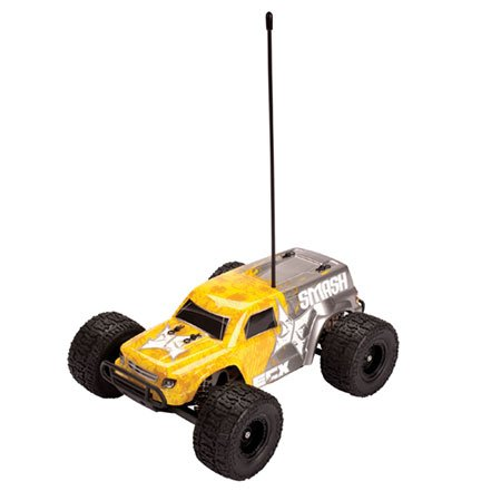 2WD 1/18 Smash Monster Truck Yellow