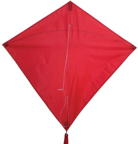 In the Breeze Red Diamond Kite, 30-Inch