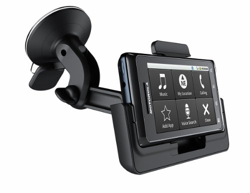 Motorola Car Mount And Rapid Car Charger For Motorola Droid 2/Droid 2 Global - Retail Packaging