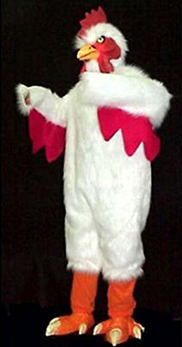 Professional Adult Size White Chicken Costume