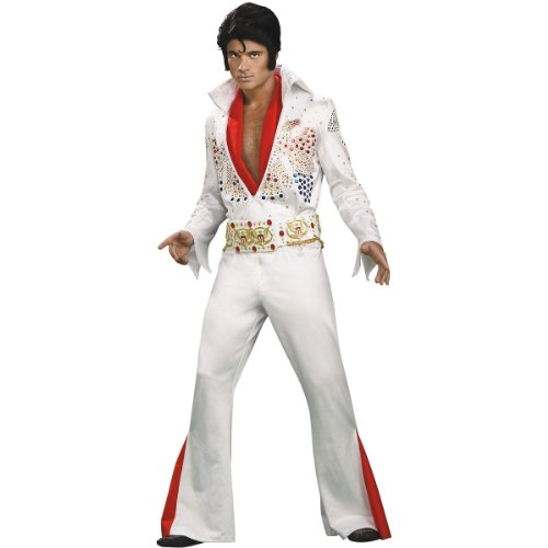 Super Deluxe Elvis Costume - Large - Chest Size 42-44