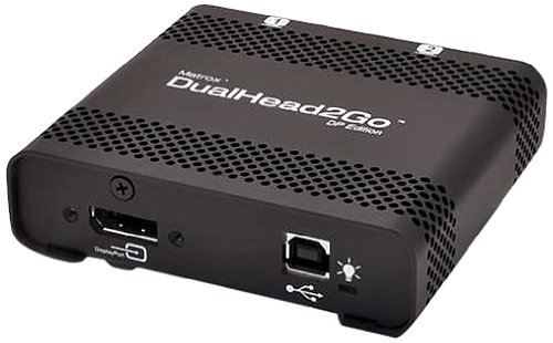 Matrox Dual Head 2 Go DP Edition D2G-DP-IF - Retail (Dual Head 2 Go compare prices)