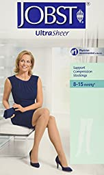 JOBST UltraSheer, Thigh CT, Extra Large, Classic Black