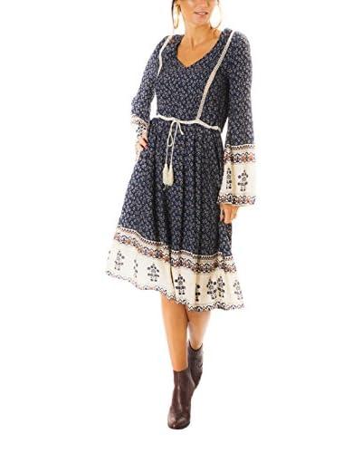 Negro Parisienne Vestido Foly