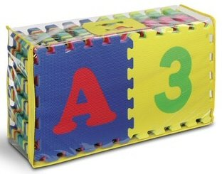 Cheap Kids Touch Numeral and Alphabet 12″ Puzzle Mats (B004I4DUB0)