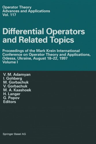 Differential Operators and Related Topics: Proceedings of the Mark Krein International Conference on Operator Theory and
