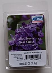 1 X Home Fragrance Wax Lilac Breeze Wax Cubes by Mainstays