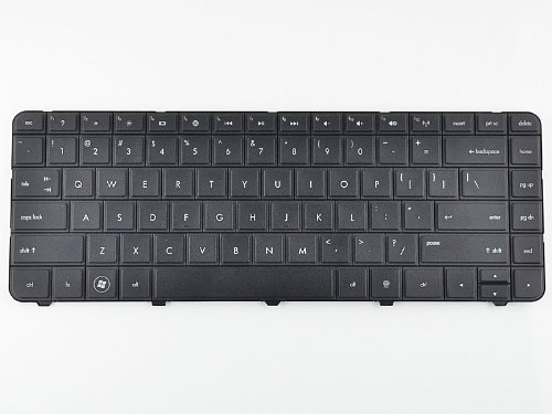 Eathtek New Black Keyboard For Hp Compaq Presario Cq57 Cq-57 Series Laptop / Notebook Us Layout