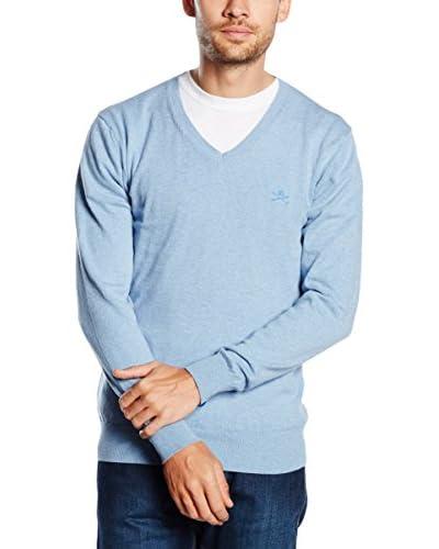 POLO CLUB Jersey Melagio Light Azul Celeste XL