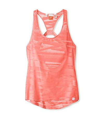 Puma Women's Mesh It Up Layer Tank