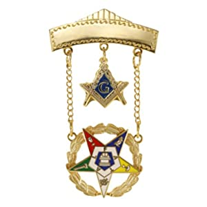 Amazon.com: Order of the Eastern Star OES Past Patron 2 Inch Tall