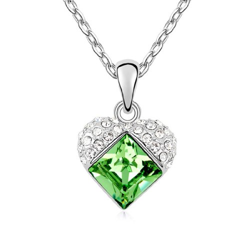Boxingcat Fine Jewelry Swarovski Style Clear Austrian Crystal Pendant Necklaces Bgca10208 front-401871