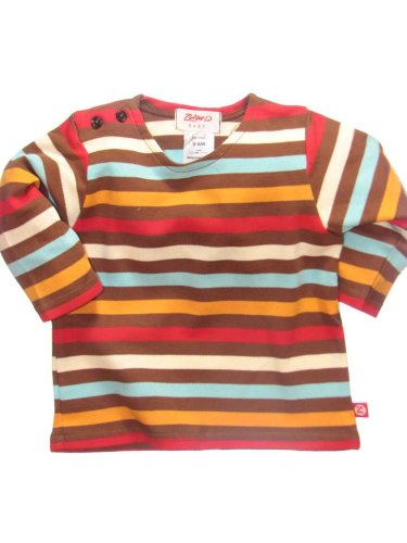 5-Color Stripe Long Sleeve T-Shirt by Zutano - Buy 5-Color Stripe Long Sleeve T-Shirt by Zutano - Purchase 5-Color Stripe Long Sleeve T-Shirt by Zutano (Zutano, Zutano Apparel, Zutano Toddler Boys Apparel, Apparel, Departments, Kids & Baby, Infants & Toddlers, Boys, Shirts & Body Suits)