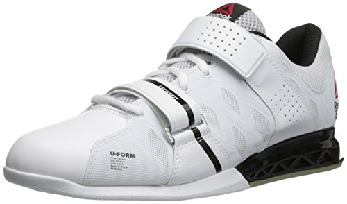 Reebok Women's Crossfit Lifter Plus 2.0 Training Shoe, White/Black/Porcelain, 8 M US