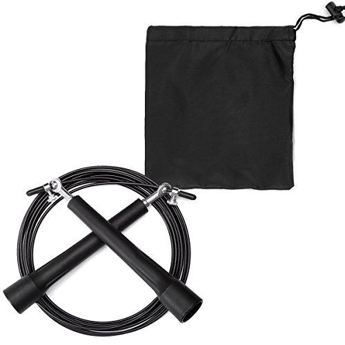 fencher-corde-per-saltare-3m-unisex-corda-per-saltare-corda-da-salto-veloce-cuscinetti-in-acciaio-re