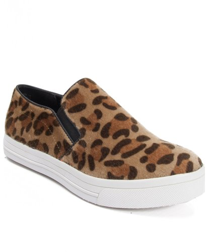 Dollhouse Skate Fuzzy Slip On Sneaker
