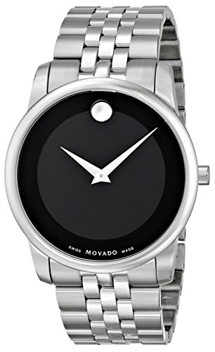 "Movado Men's 0606504 ""Museum"" Stainless Steel Watch image"