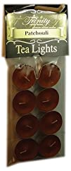Trinity Candle Factory -Patchouli  Tea Light Candle  8 Pack