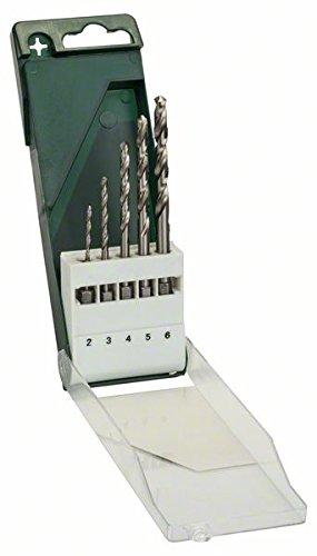 Bosch-DIY-5tlg-Metallbohrer-Set-HSS-G-geschliffen-mit-14-Zoll-Sechskantschaft