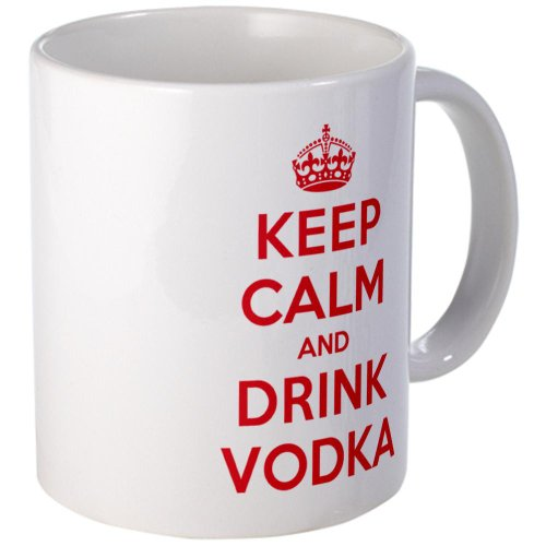 Cafepress K C Drink Vodka Mug - Standard Multi-Color