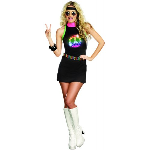 Peace Out Costume - X-Large - Dress Size 14-16