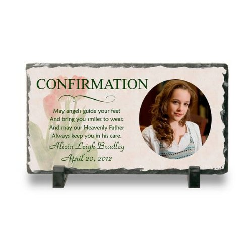 Confirmation Photo Slate Plaque