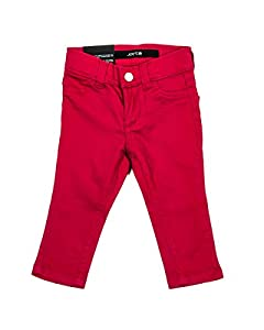 Ultra Slim Fit Color Jegging in Red in 12 Mos