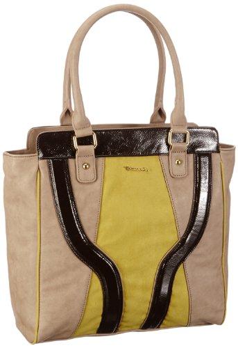 Tamaris Yolanda Shopper Shopper Women multi-coloured Mehrfarbig (taupe comb. 349) Size: 41x36x12 cm (B x H x T)