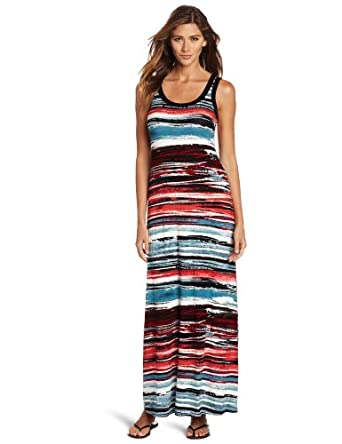 Karen Kane Women's Painted Maxi Dress