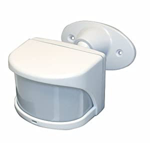 Heath/Zenith SL-6032-WH-A 240-Degree Wireless Motion Sensor, White