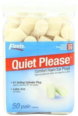 Flents Quiet Please Foam Ear Plugs 50-Pair