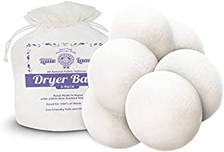 Little Lamb Wool Dryer Balls 6 Pack