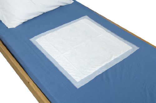 NRS Disposable Bed/Chair Incontinence Protection Pad, Size: 60 x 40cm (23.5 x 16