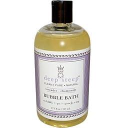 Deep Steep Bubble Bath Lavender Chamomile - 17 fl oz