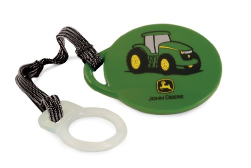 The First Years Pacifier Clip, John Deere - 1